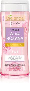 Bielenda Rose Care beruhigendes reinigendes Rosenwasser 3in1