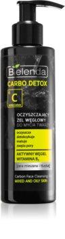Bielenda Carbo Detox Active Carbon gel de limpeza com carvão para pele oleosa e mista