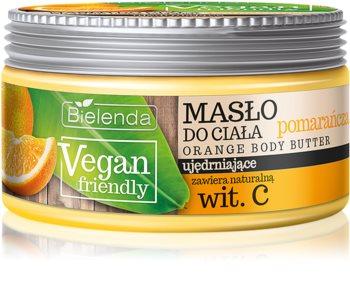 Bielenda Vegan Friendly Orange manteiga corporal