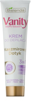 Bielenda Vanity Soft Touch crema depilatoria per pelli sensibili