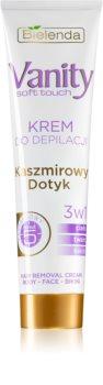 Bielenda Vanity Soft Touch creme depilatório para pele sensível