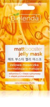 Bielenda Jelly Mask Matt Booster normalizující matující maska pro mastnou a smíšenou pleť