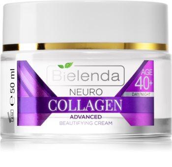 Bielenda Neuro Collagen хидратиращ крем с противобръчков ефект 40+