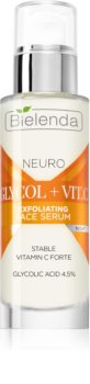 Bielenda Neuro Glicol + Vit. C siero notte anti-age effetto scrub