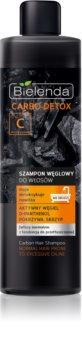 Bielenda Carbo Detox Active Carbon șampon cu ingrediente active de cărbune pentru par normal spre gras