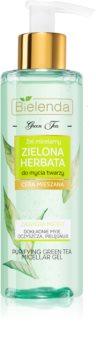 Bielenda Green Tea gel micelar de curățare pentru ten gras și mixt