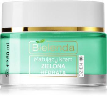 Bielenda Green Tea crème de jour matifiante pour peaux mixtes