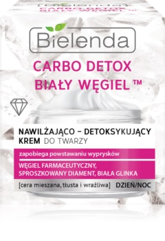 Bielenda Carbo Detox White Carbon hydratační denní a noční krém