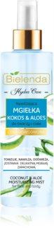 Bielenda Hydra Care Coconut & Aloe hydratisierender Nebel Für Gesicht und Körper