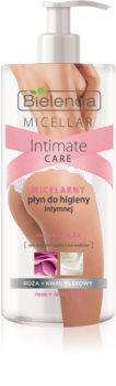 Bielenda Micellar Intimate Care Rose oczyszczający żel micelarny do okolic intymnych