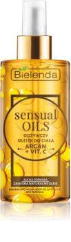Bielenda Sensual Body Oils huile pour le corps nourrissante à la vitamine C