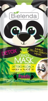 Bielenda Crazy Mask Panda detoksikacijska maska 3D