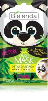 Bielenda Crazy Mask Panda maseczka detoksykująca 3D