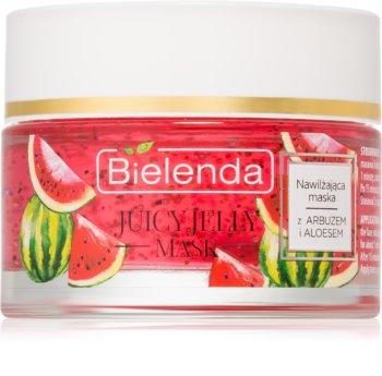 Bielenda Juicy Jelly Melon & Aloe Vera hydratační maska pro suchou pleť