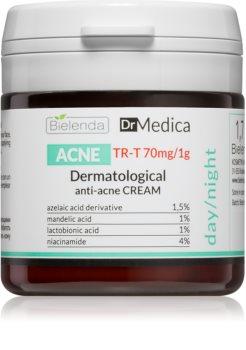 Bielenda Dr Medica Acne Gesichtscreme für fettige Haut mit Neigung zu Akne