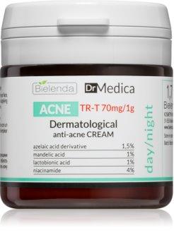 Bielenda Dr Medica Acne крем для обличчя для жирної шкіри зі схильністю до акне