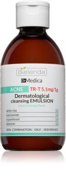 Bielenda Dr Medica Acne Dermatologische Reinigungsemulsion für fettige Haut mit Neigung zu Akne