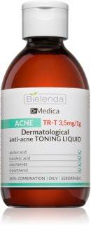 Bielenda Dr Medica Acne čisticí pleťové tonikum pro mastnou pleť se sklonem k akné