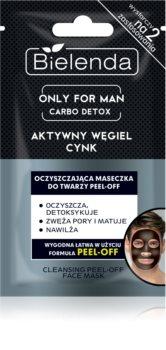 Bielenda Only for Men Carbo Detox masque purifiant exfoliant pour le visage