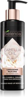 Bielenda Camellia Oil čistilno mleko za odstranjevanje ličil