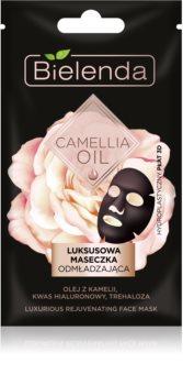 Bielenda Camellia Oil maschera ringiovanente viso 3D