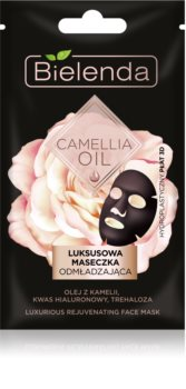 Bielenda Camellia Oil masque visage rajeunissant 3D