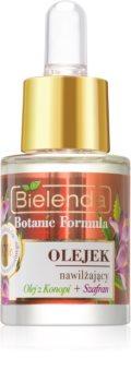 Bielenda Botanic Formula Hemp + Saffron Gezichtsolie  met Hydraterende Werking