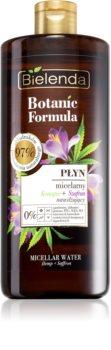 Bielenda Botanic Formula Hemp + Saffron orzeźwiający oczyszczający płyn micelarny