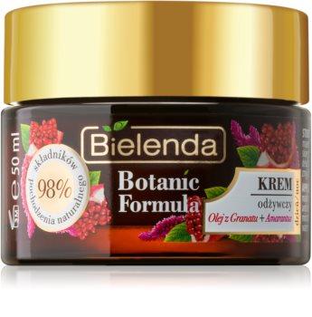Bielenda Botanic Formula Pomegranate Oil + Amaranth intensiv nährende Creme
