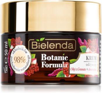 Bielenda Botanic Formula Pomegranate Oil + Amaranth krem intensywnie odżywiający