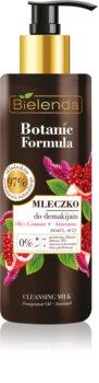 Bielenda Botanic Formula Pomegranate Oil + Amaranth Gezichtsreinigend Melk