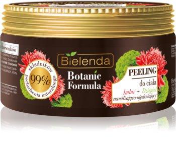 Bielenda Botanic Formula Ginger + Angelica подхранващ скраб за тяло