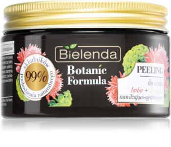 Bielenda Botanic Formula Ginger + Angelica поживний пілінг для тіла