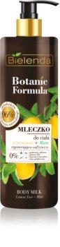 Bielenda Botanic Formula Lemon Tree Extract + Mint nährende Body lotion