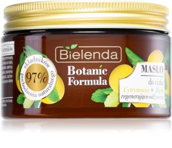 Bielenda Botanic Formula Lemon Tree Extract + Mint Manteiga corporal hidratante