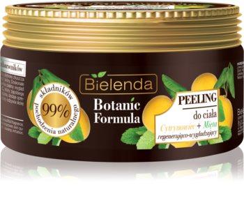 Bielenda Botanic Formula Lemon Tree Extract + Mint glättendes Body-Peeling