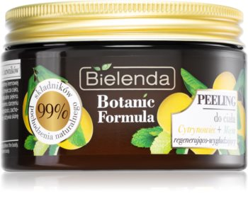 Bielenda Botanic Formula Lemon Tree Extract + Mint изглаждащ пилинг за тяло