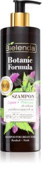 Bielenda Botanic Formula Burdock + Nettle šampon pro mastné vlasy