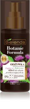 Bielenda Botanic Formula Burdock + Nettle après-shampoing sans rinçage en spray pour cheveux gras