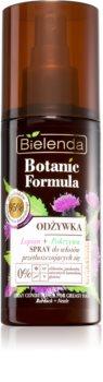 Bielenda Botanic Formula Burdock + Nettle bezoplachový kondicionér ve spreji pro mastné vlasy