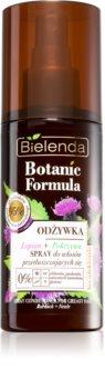 Bielenda Botanic Formula Burdock + Nettle odżywka w sprayu bez spłukiwania do włosów przetłuszczających