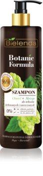 Bielenda Botanic Formula Hops + Horsetail șampon pentru par deteriorat si vopsit