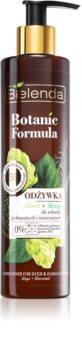 Bielenda Botanic Formula Hops + Horsetail Conditioner für beschädigtes und coloriertes Haar