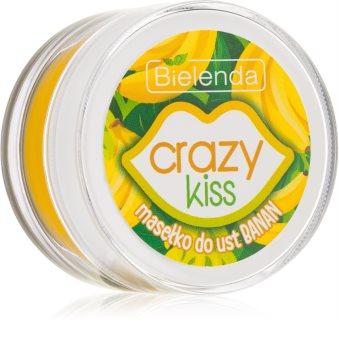 Bielenda Crazy Kiss Banana negovalno maslo za ustnice