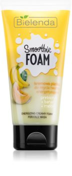 Bielenda Smoothie Prebiotic + Banana + Melon pianka oczyszczająca do skóry suchej