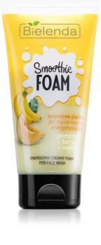 Bielenda Smoothie Prebiotic + Banana + Melon spuma de curatat pentru tenul uscat
