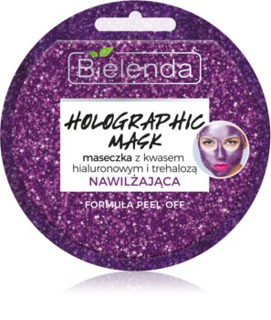 Bielenda Holographic Mask Hydratisierende Maske mit Hyaluronsäure