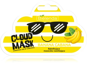 Bielenda Cloud Mask Banana Cabana hidratantna maska za lice
