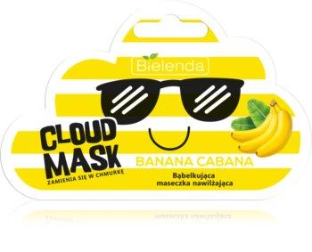 Bielenda Cloud Mask Banana Cabana maseczka nawilżająca do twarzy