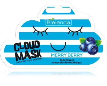 Bielenda Cloud Mask Merry Berry Detoxifying Skin Mask